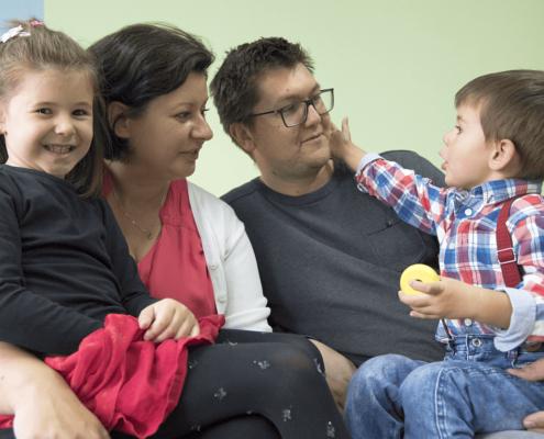Podpora pěstounských rodin