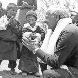 Návštěva zakladatele SOS dětských vesniček