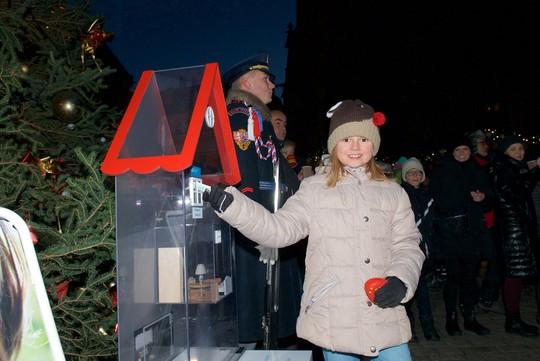 Vánoční sbírka na Pražském hradě