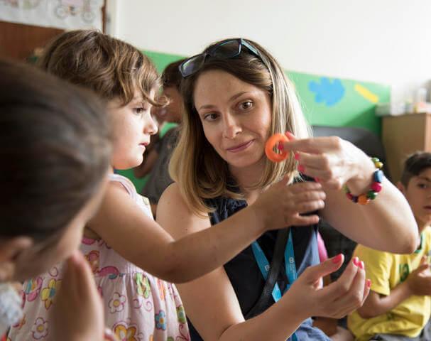 Sociální pracovnice SOS dětských vesniček