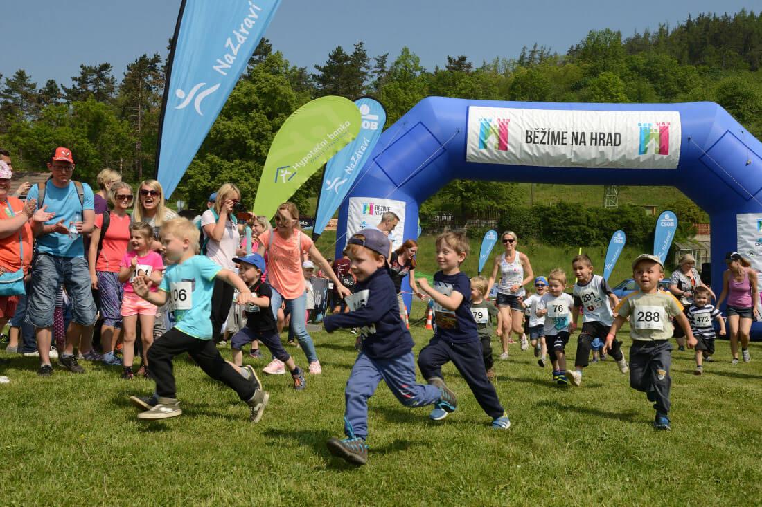 Běžíme na hrad podpoří SOS dětské vesničky