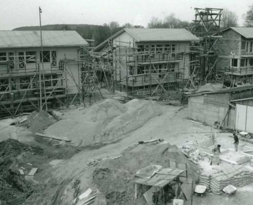 V lednu 1971 začaly ve Chvalčově stavební práce.