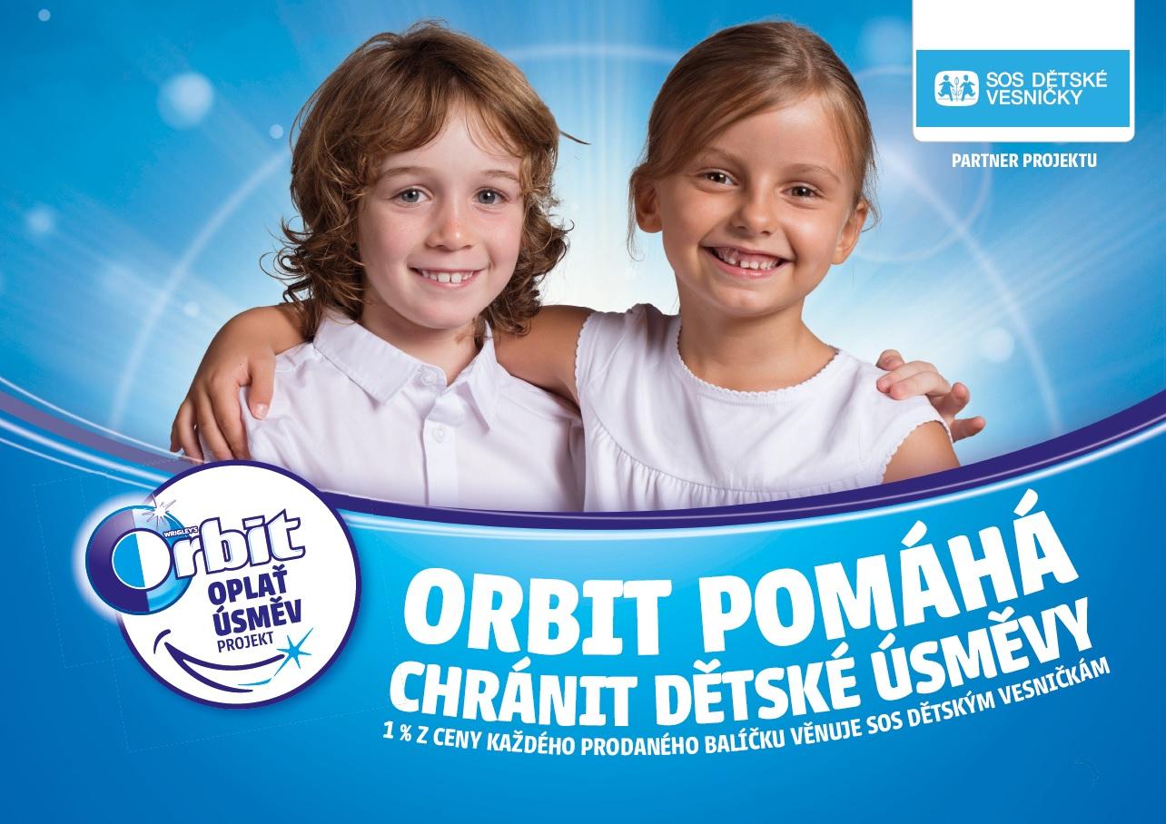 Orbit už potřetí podpoří SOS dětské vesničky