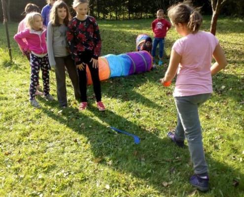 Děti strávily víkend v kouzelném prostředí Rychlebských hor