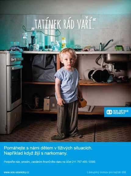 SOS dětské vesničky představují kampaň Ztracené dětství