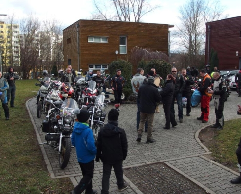 Do brněnské SOS dětské vesničky Ježíšek jezdí na motorce