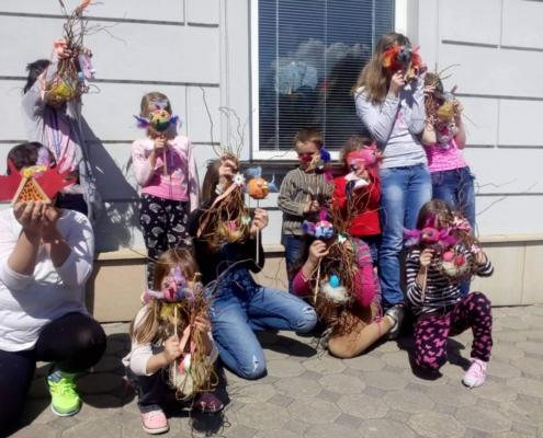 Na Velikonoce jsou děti ze zábřežského SOS Kompasu připravené.